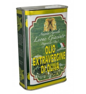 Olio extravergine in lattina 1Lt
